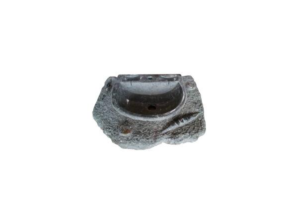 lave main fossile en pierre naturelle