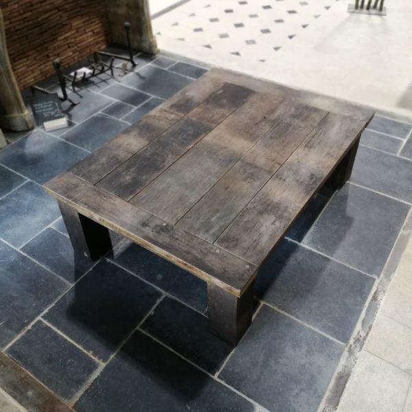 table en vieux chêne ancien