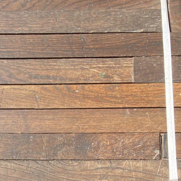 Détails du lot de parquet ancien en chêne