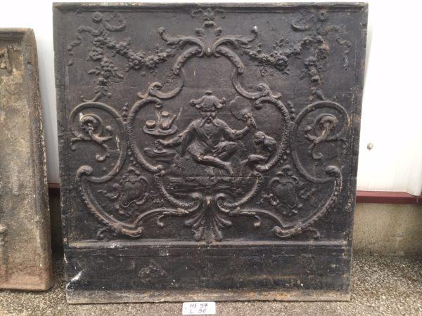 plaque de cheminée du XIXème
