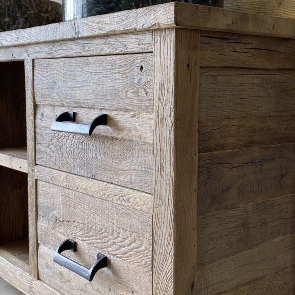 détails des tiroirs