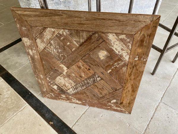 dimension du panneau de versailles en teck vintage