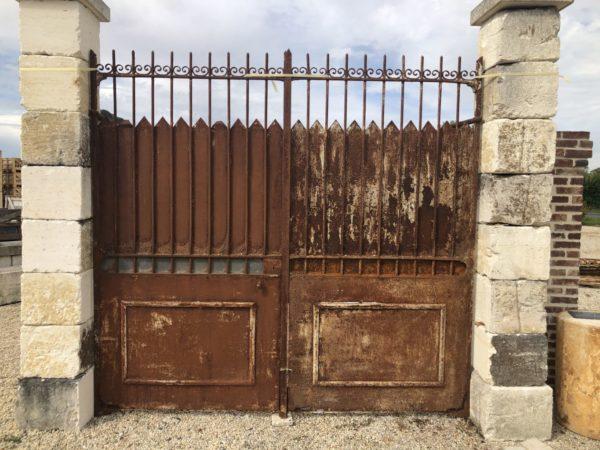portail ancien à rénover