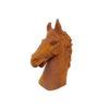 statue en forme de tête de cheval
