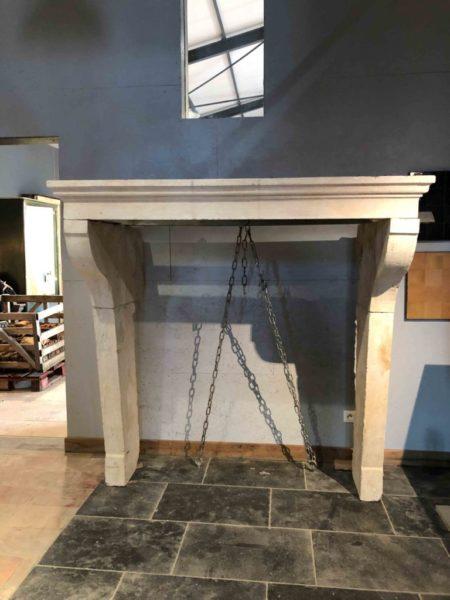 cheminée ancienne campagnard