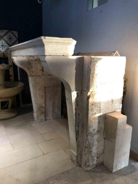 cheminée ancienne rustique