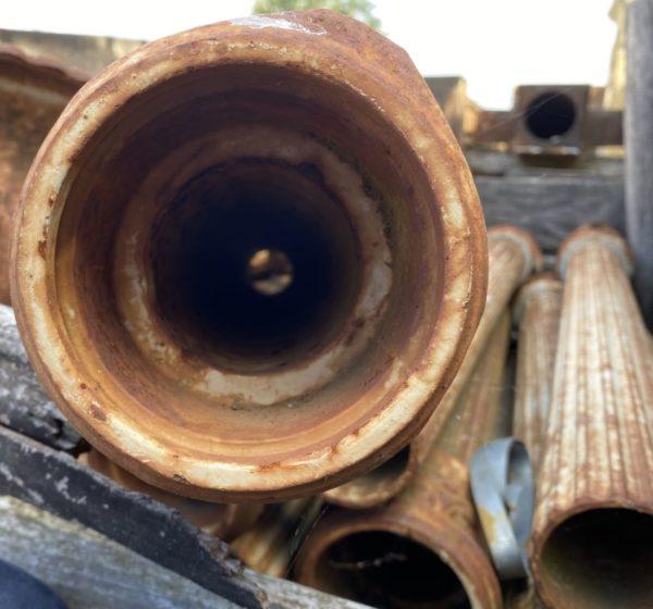 intérieur du tube