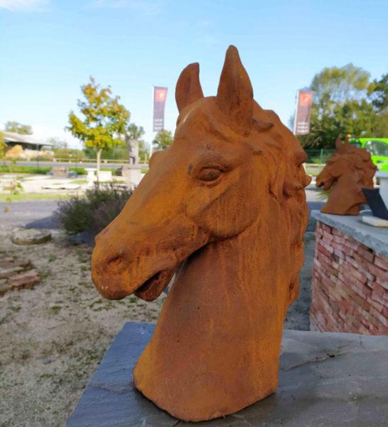 statue d'équitation de réédition