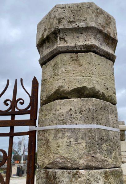 calcaire français pour pilier
