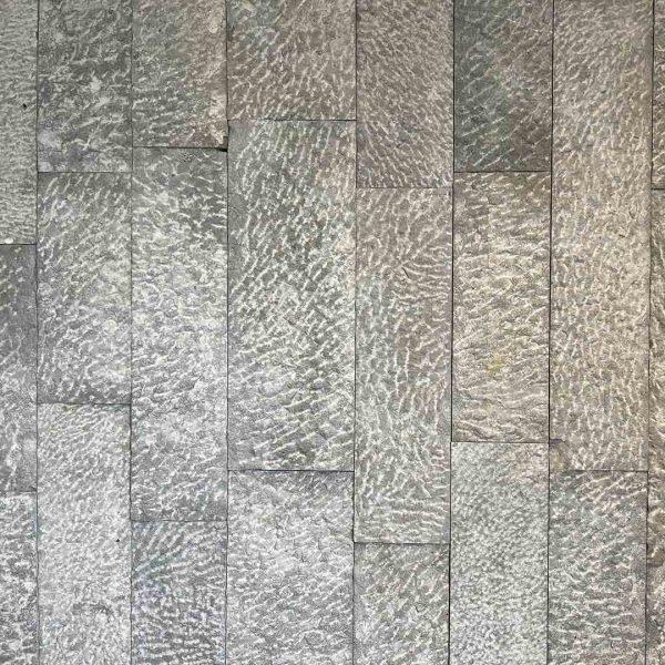 Parement argos gris piqueté