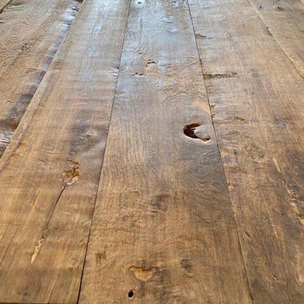 plancher en vieux bois à fromage