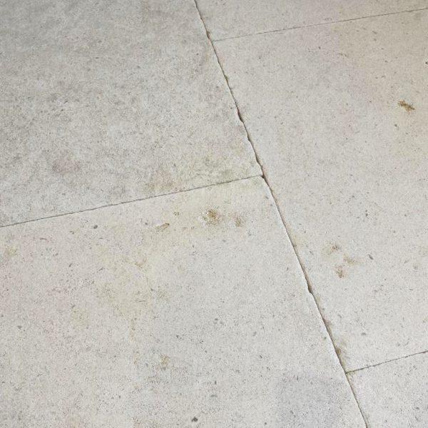 Dallage en pierre calcaire sarlat