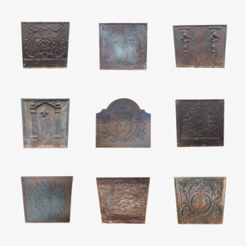 Nos plaques en fonte pour habiller sa cheminée